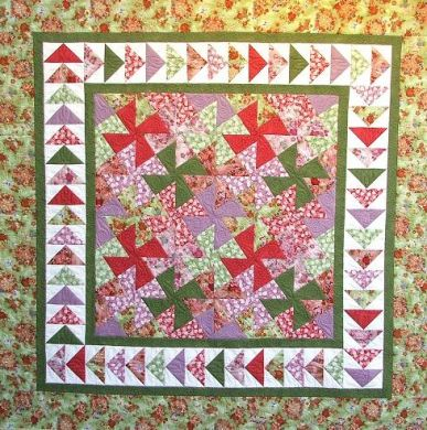 Free quilting pattern, printable - Quilting at Thimblelady