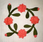 Rose Garden Block 10 - Rose Wreath