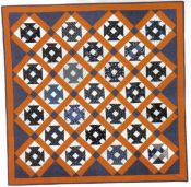 Antique Indigo Wrench Quilt